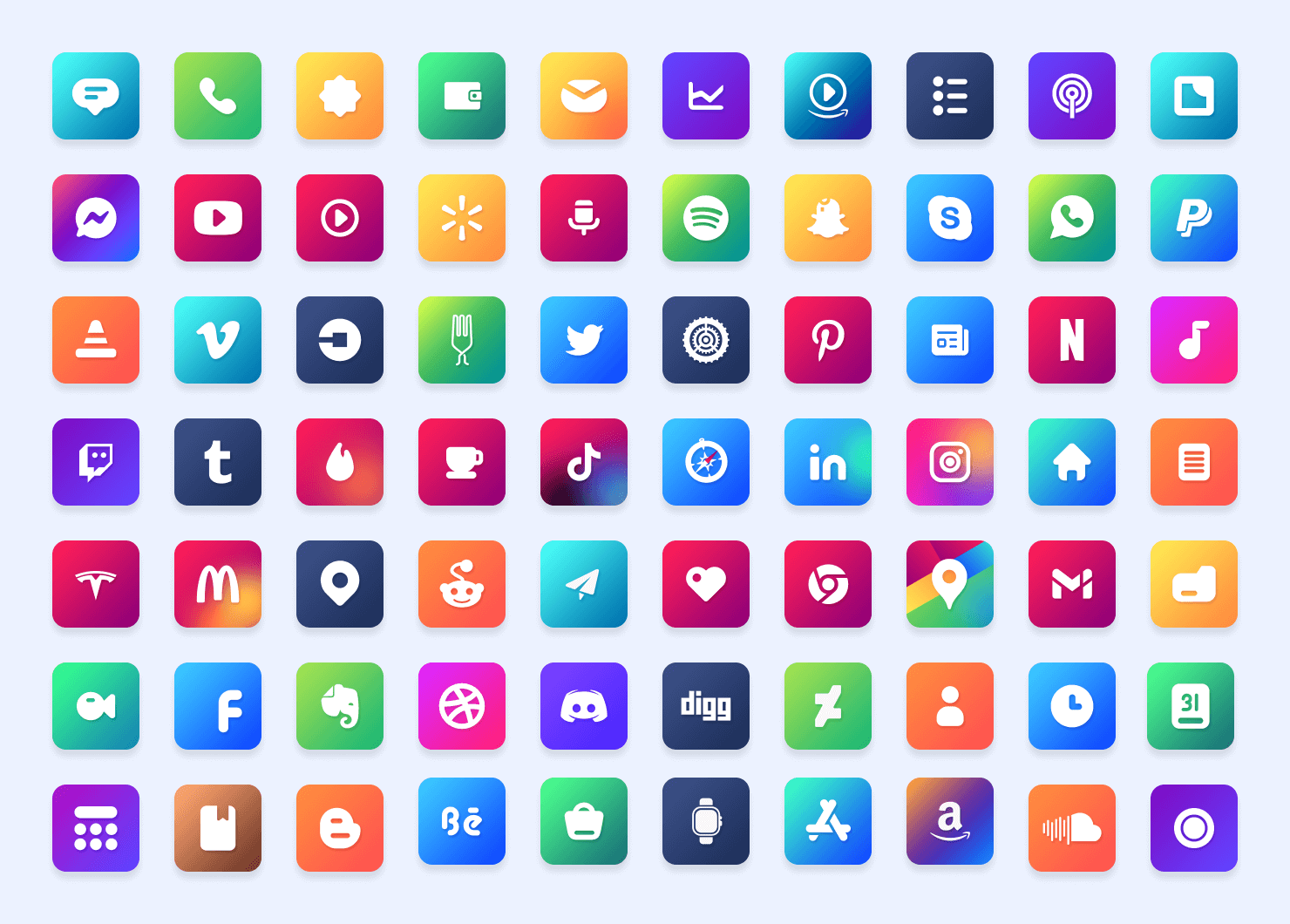 Candy iOS Icon Pack